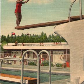 Poolside Postcard